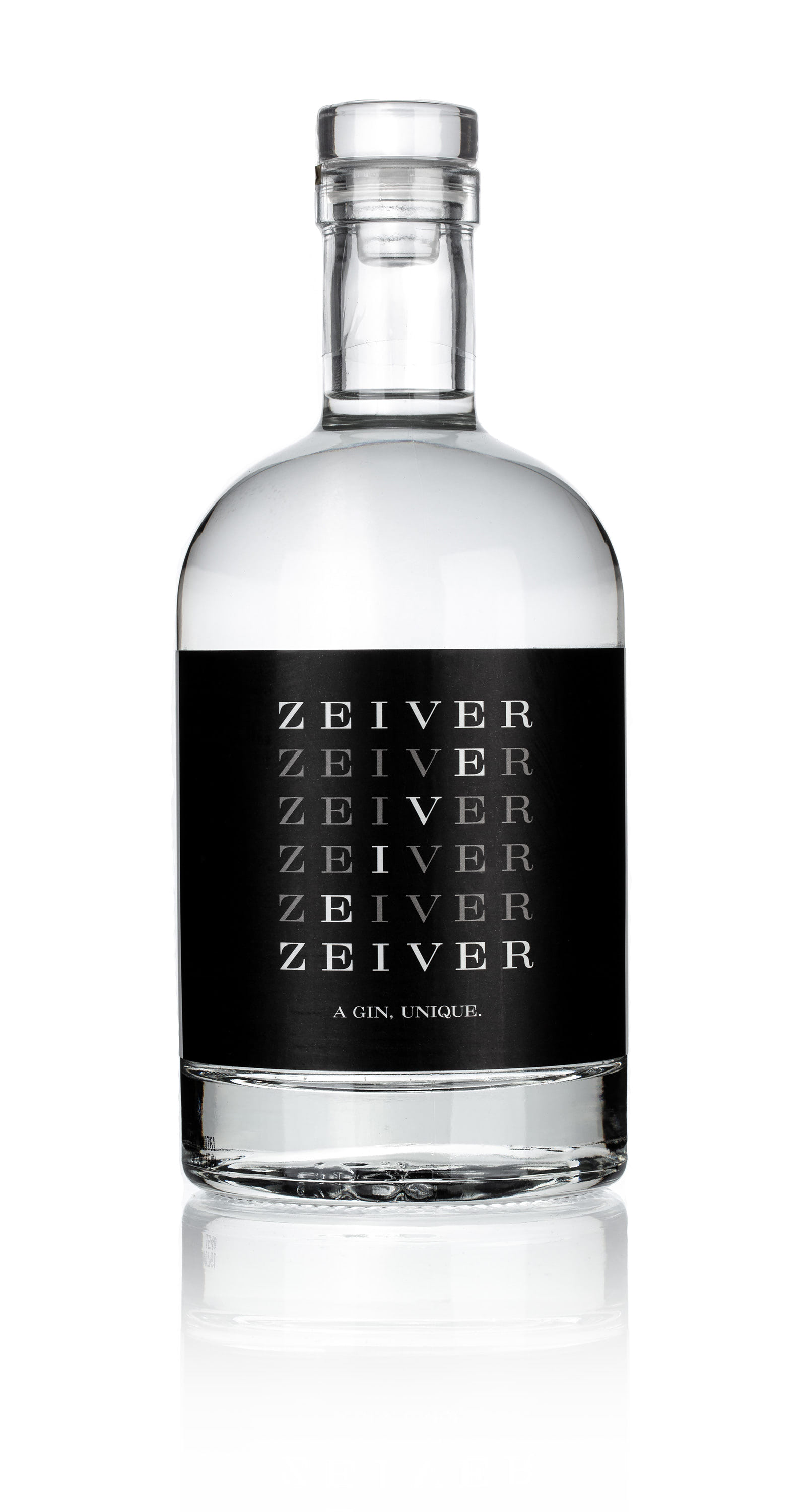 White front of the bottle